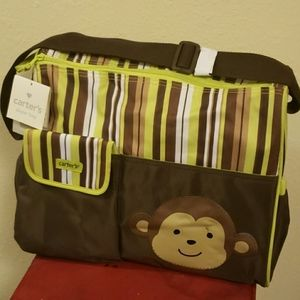 🐵Carter's Diaper Bag